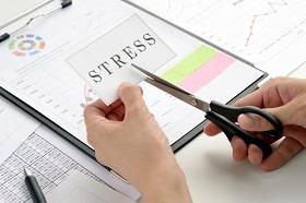 ストレスマネジメントでストレスを解決、削減、軽減するイメージ