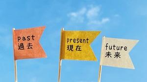 過去・現在・未来のイメージ