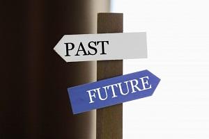 過去と未来のイメージ