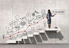 成功の準備・目標と計画のイメージ