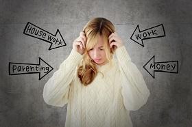 さまざまなストレスのイメージ