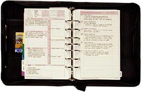 SMIのシステム手帳「エグゼクティブ・サクセス・プランナー」(ESP)のイメージ